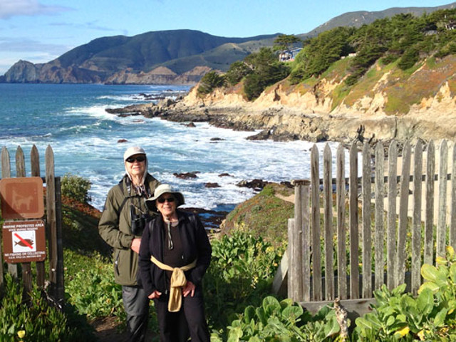 Walking to Montara